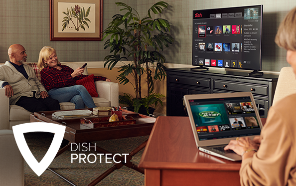 Get DISH Protect from AAA DISH Net Solutions LLC in Ardmore, OK
